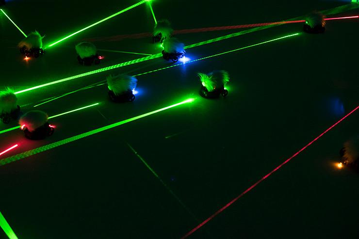 Lasermice
