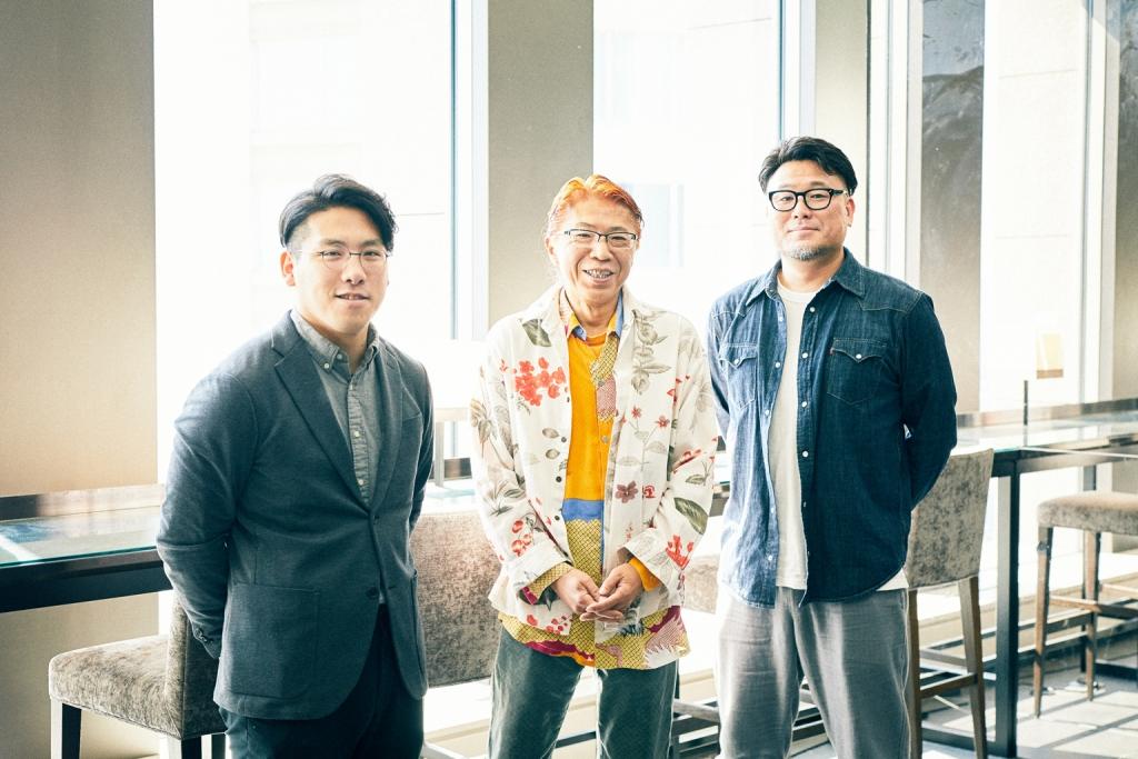 受賞者リアルトーク『シヤチハタ・ニュープロダクト・デザイン・コンペティション』の挑み方鼎談に参加した、第11回の同コンペ受賞者3名。左から青柳祥生さん、清水邦重さん、明間大樹さん。