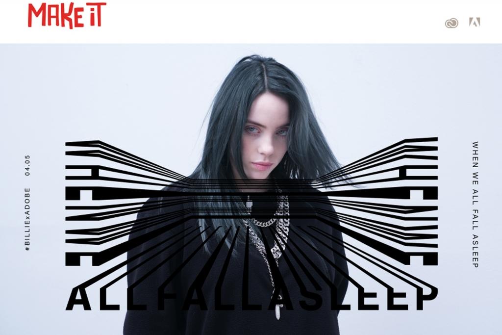 【公募情報】Adobeが「When We All Fall Asleep」コンテストを開催 ビリー・アイリッシュと夢を描く