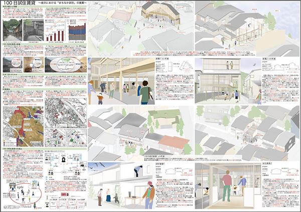 100日試住賃貸 ── 金沢における「まちなか試住」の提案