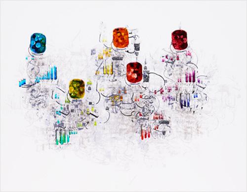 未来都市ー色彩球