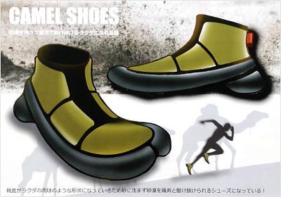 テーマ:砂漠を神った速さで駆け抜けるラクダになれる靴