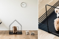 【商品化】モダンな住空間にマッチするペットハウス「カサーノ」発売 サンワカンパニーのデザインコンペ受賞作