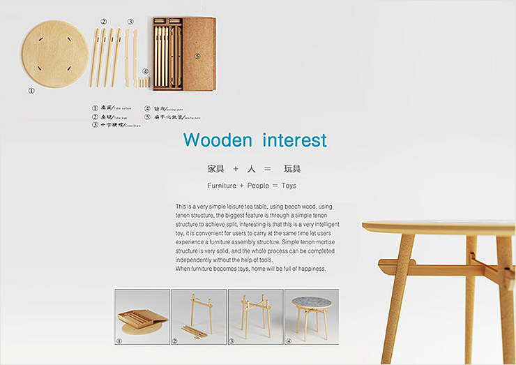 Wooden interest