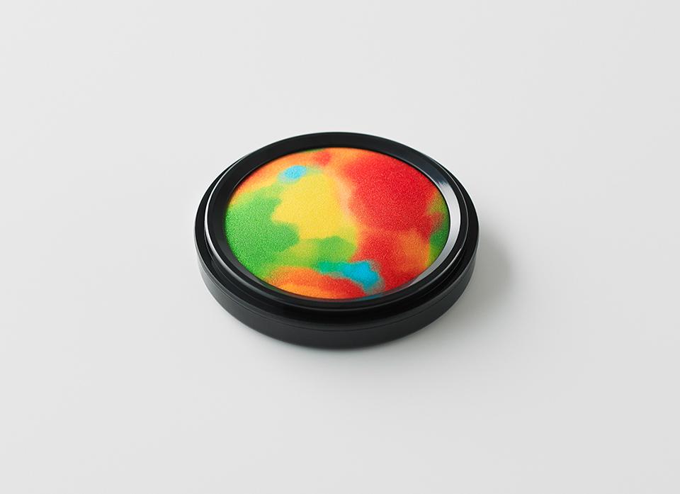 「シヤチハタ・ニュープロダクト・デザイン・コンペティション」第12回グランプリ作品「わたしのいろ」模型画像