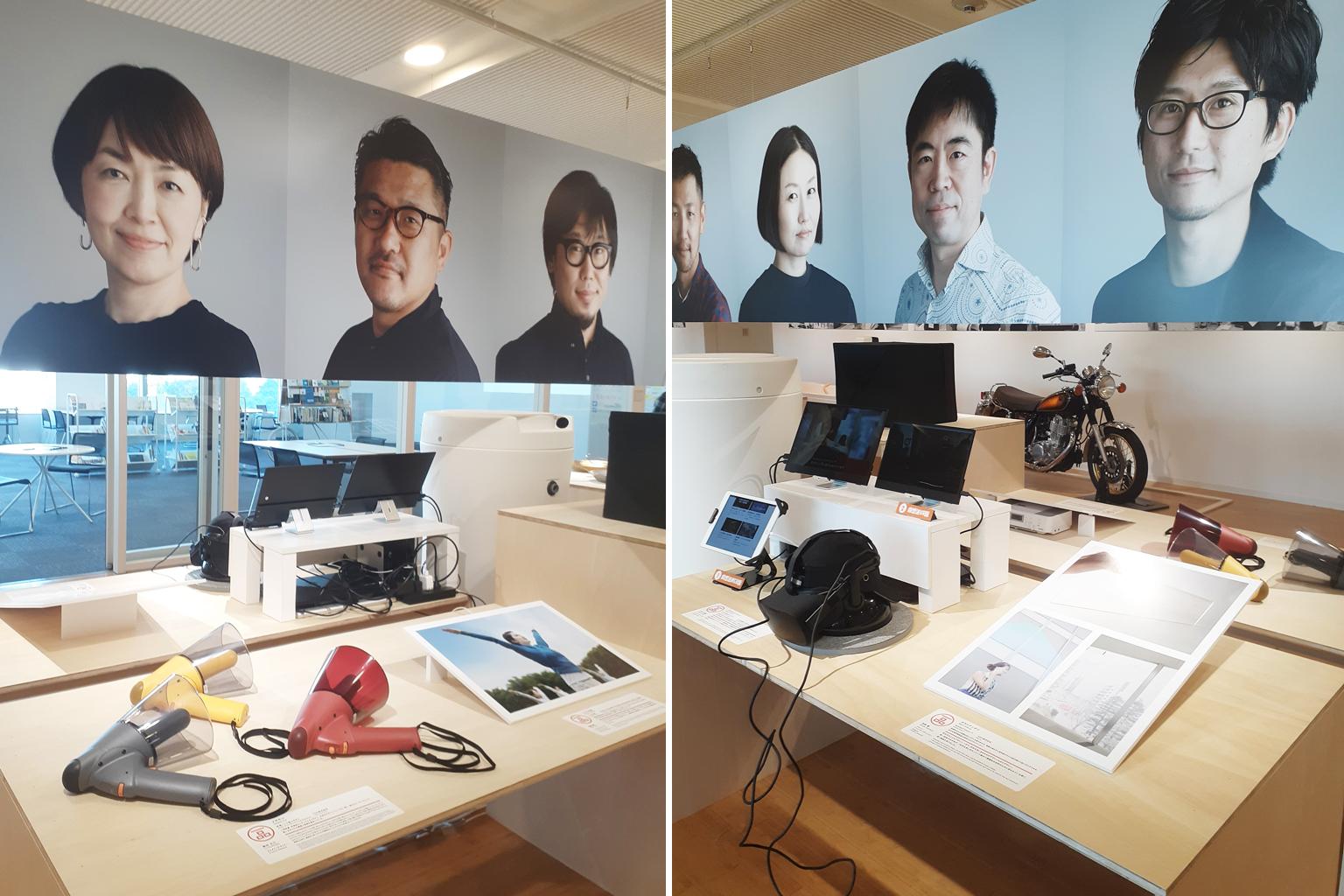 東京ミッドタウン・デザインハブ 第82回企画展 「私の選んだ一品- 2019年度グッドデザイン賞審査委員セレクション」会場の様子