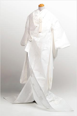 羽のように軽い花嫁衣裳
