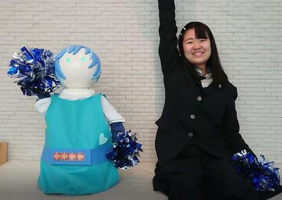 体操ロボット<ほのりん>