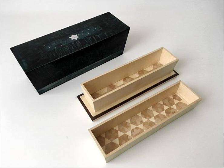 栃楓造小箱 ─ 氷雪