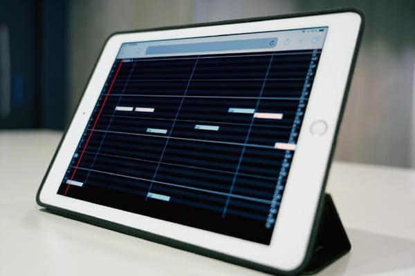 動的楽譜システム