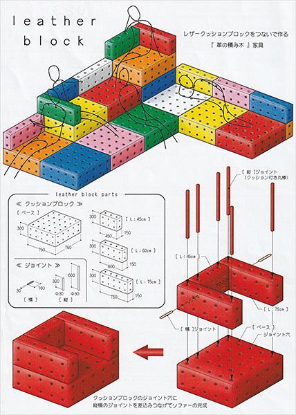 leather block