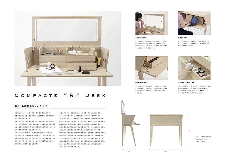 "Compacte ""R"" Desk"