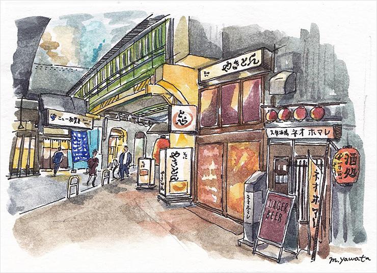 日本の裏道文化