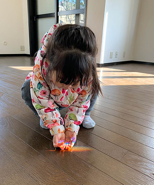 そぉーっと、虹をすくおう/2歳8カ月