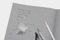 【商品化】「コクヨデザインアワード2018」受賞作の「白と黒で書くノート」が商品化