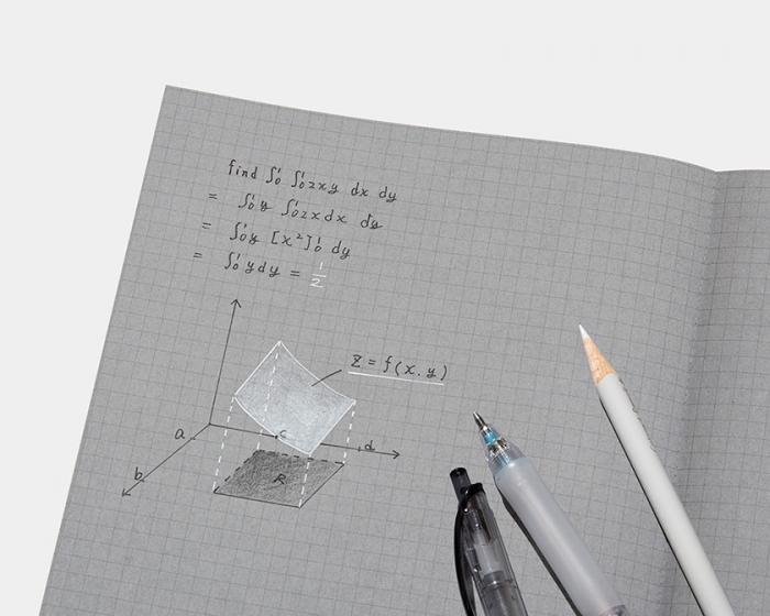 コクヨデザインアワード2018優秀賞受賞作品「白と黒で書くノート」