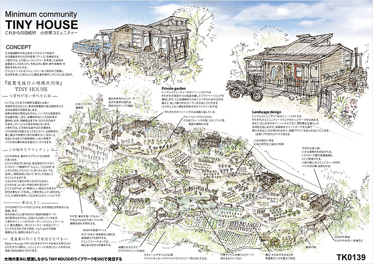 Minimum community TINY HOUSE