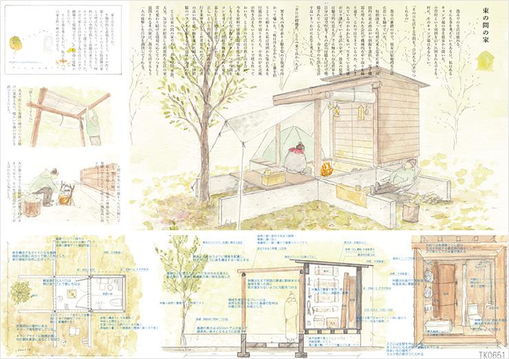 束の間の家