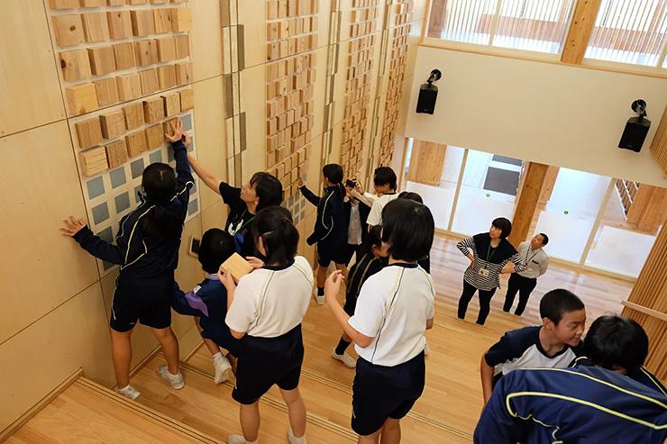 木造校舎を使った木育カリキュラムの実践
