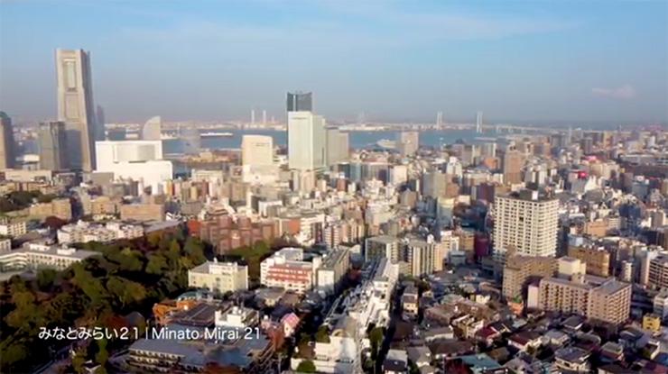 Kanagawa From Above