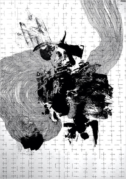 Drawing Disassemblage XXVII - Prose Verse